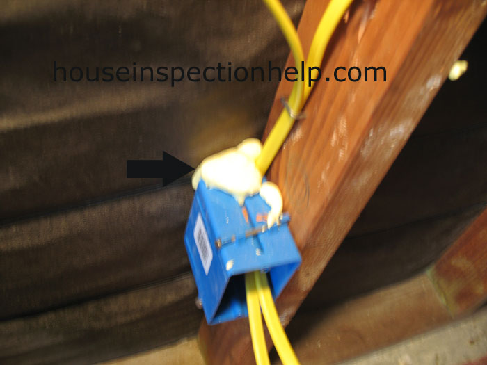 Foam Electrical Box Protection