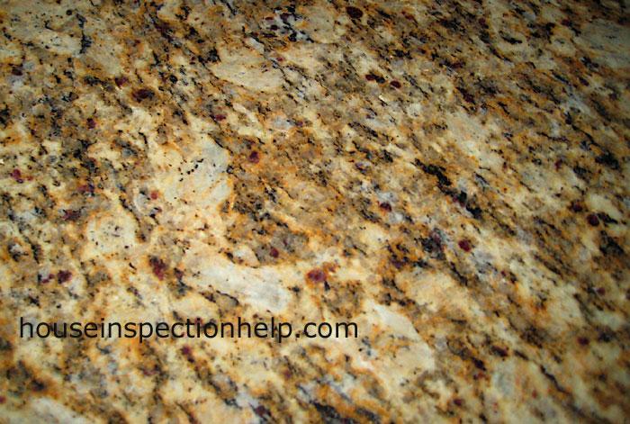 Granite Counter Close Up