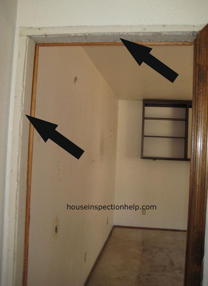 Interior Door Jamb Missing