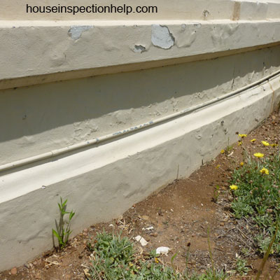 Moisture From Soil Stucco Damage