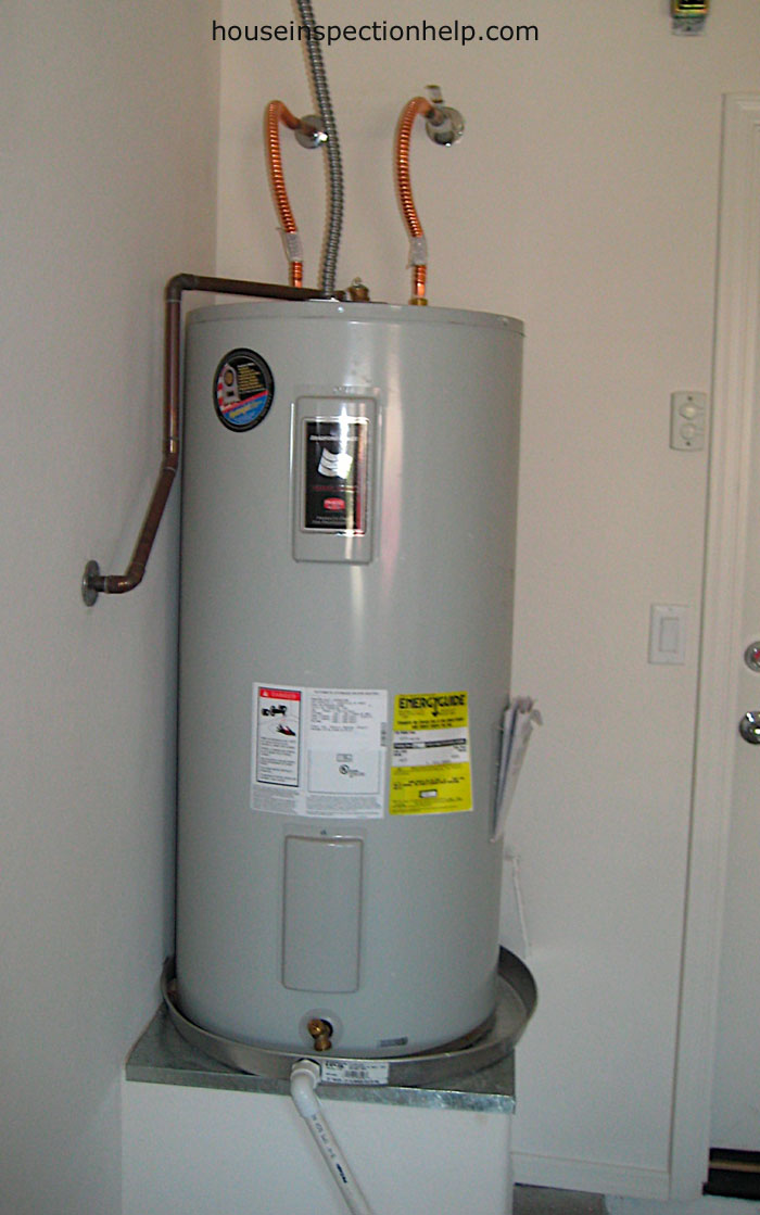 New Electric Water Heater