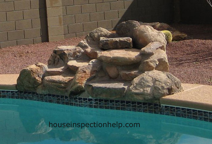 Small Rock Waterfall For Pool