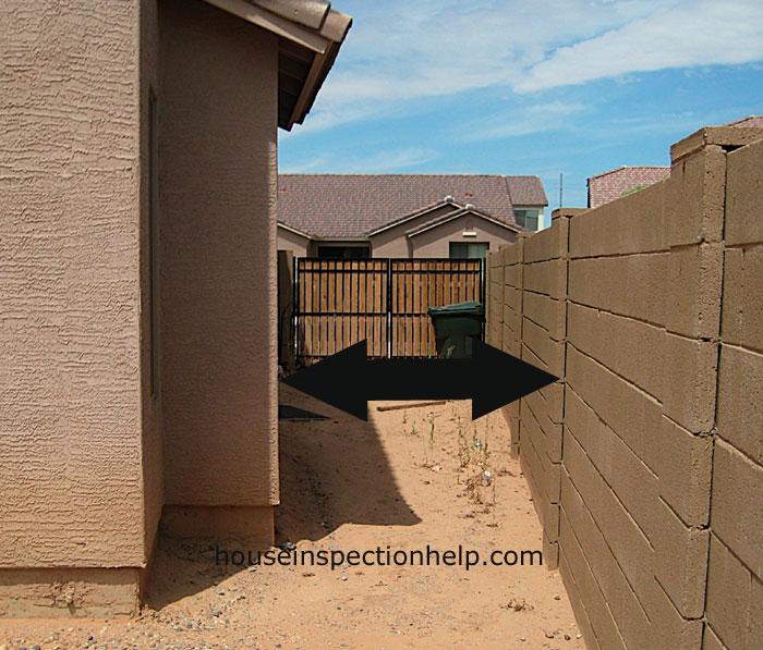 Side House Easement