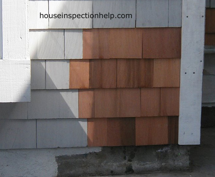 Wood Shingle Siding Repair