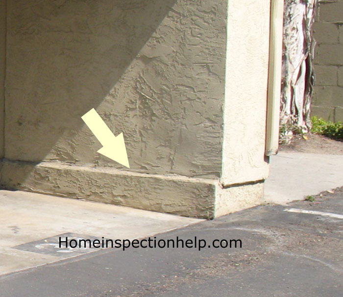 Footing Stucco Problem
