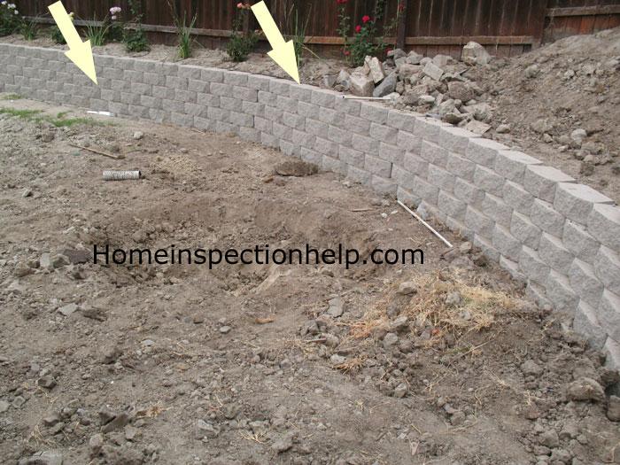 No Mortar Retaining Wall