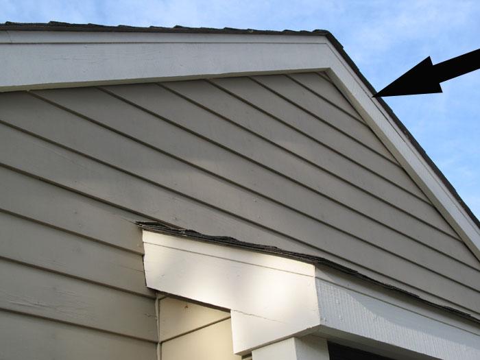 No Roof Overhang